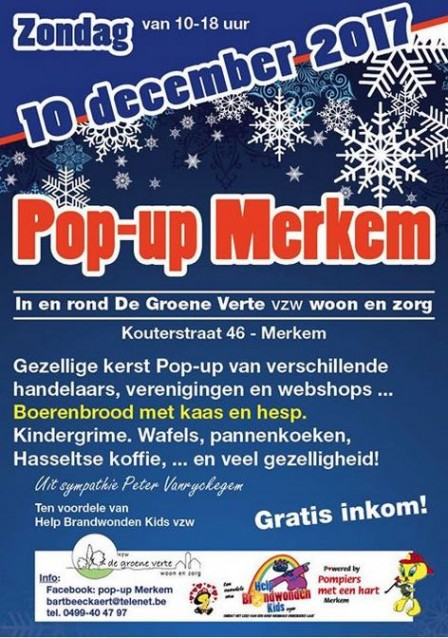 Pop-up Merkem 2017